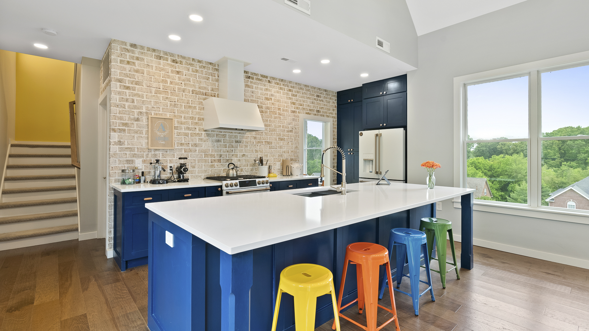 Sam Adams House Kitchen